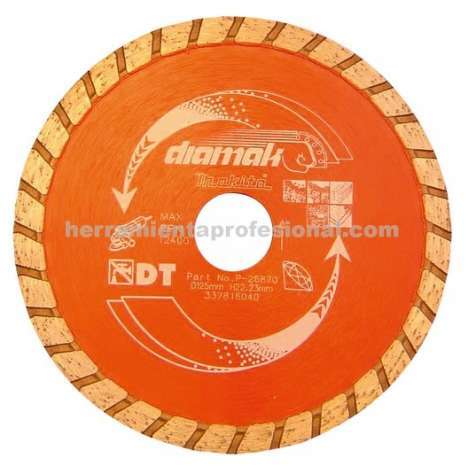 Disco diamak banda turbo Makita 115mm
