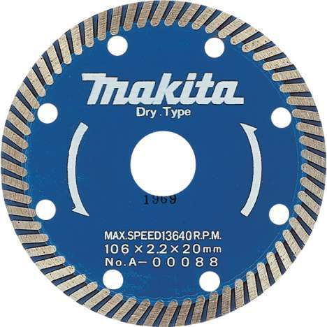 Disco especial para Makita 4101RH 110mm segmento turbo