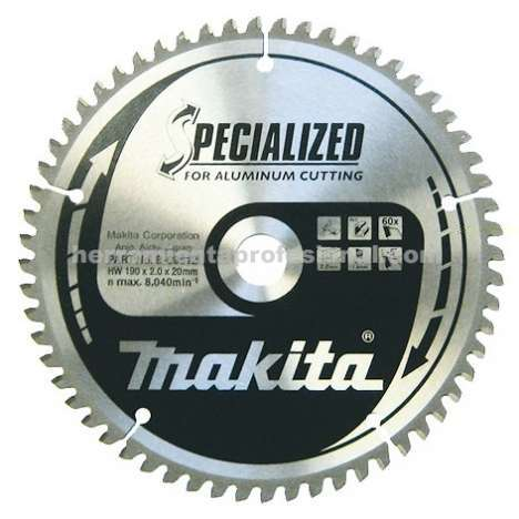 Disco Specialized aluminio 270mm Makita