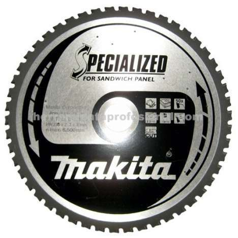Disco Specialized panel sandwich Makita 355mm 5143R