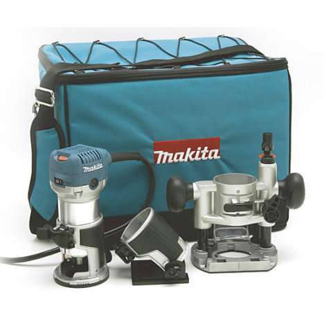 Fresadora multifunción Makita RT0700CX2