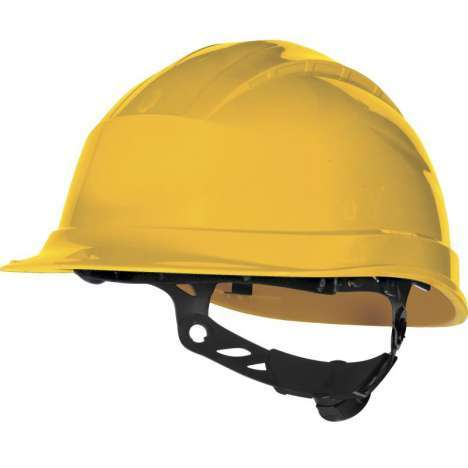 Casco de seguridad amarillo Delta Plus Quartz Up III
