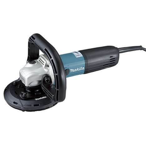 Debastadora de diamante Makita con disco de 125mm y potente motor de 1400W