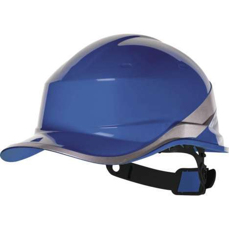 Casco de seguridad azul Delta Plus Diamond V