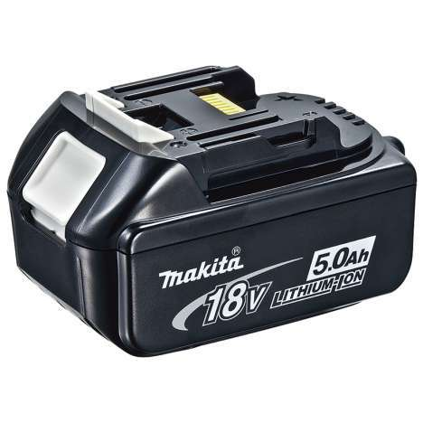 Batería Litio-ion 18v (5,0Ah) Makita BL1850