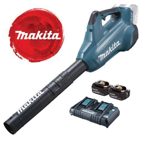 Makita DUB362Z Blower + 2 Batteries + Charger