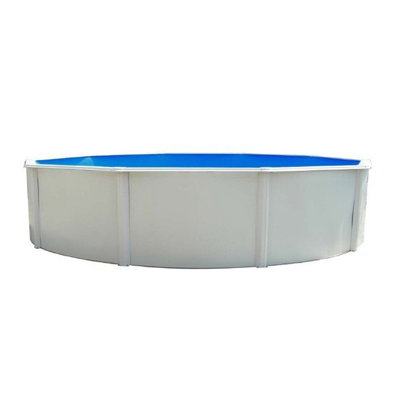 Piscina Desmontable de Paneles con Depuradora INTEX Graphite Grey Panel 26384NP - 478 x 124 cm